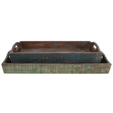 Rectangular Accent Tray (Set of 2)