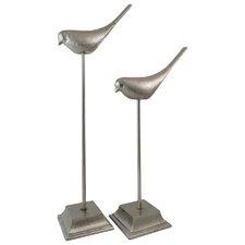 2 Piece Mabel Bird Statue
