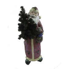 Magnesium Traditional Santa Christmas Decoration