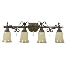 <strong>Jeremiah</strong> Brasilia 4 Light Bath Vanity Light