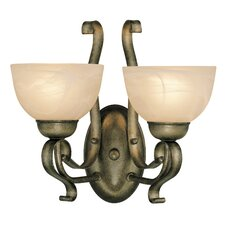 Brookfield 2 Light Wall Sconce