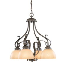 <strong>Jeremiah</strong> Brookfield 4 Light Down Chandelier