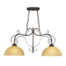 <strong>Jeremiah</strong> Brookfield 2 Light Chandelier