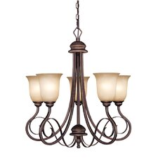 <strong>Jeremiah</strong> Preston Place 5 Light Chandelier