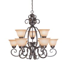 <strong>Jeremiah</strong> Sheridan 9 Light Chandelier