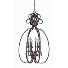 Sheridan 6 Light Foyer Pendant