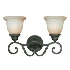 Sutherland 2 Light Bath Vanity Light