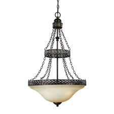 Brookshire Manor 3 Light Foyer Pendant