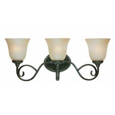 Barret Place 3 Light Bath Vanity Light