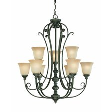 Barret Place 9 Light Chandelier