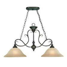 <strong>Jeremiah</strong> Barret Place 2 Light Bath Vanity Light