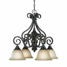 <strong>Jeremiah</strong> Torrey 4 Light Chandelier