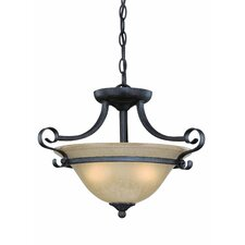 <strong>Jeremiah</strong> Stanton 3 Light Semi Flush Mount