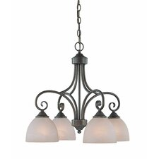 <strong>Jeremiah</strong> Raleigh 4 Light Chandelier