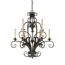 Ferentino 9 Light Chandelier