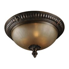 <strong>Jeremiah</strong> Devereaux 3 Light Flush Mount