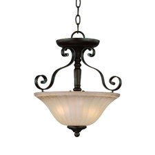 LaGrange 2 Light Semi Flush Mount
