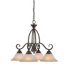<strong>Jeremiah</strong> Gatewick 4 Light Chandelier