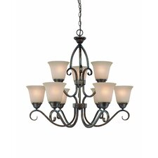 <strong>Jeremiah</strong> Gatewick 9 Light Chandelier