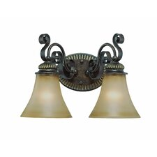 <strong>Jeremiah</strong> Kingsley 2 Light Bath Vanity Light