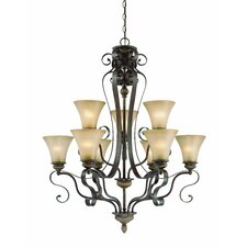 <strong>Jeremiah</strong> Kingsley 9 Light Chandelier