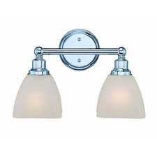 Bradley 2 Light Bath Vanity Light