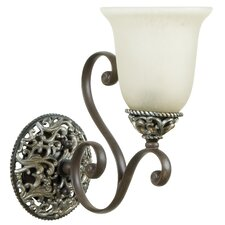 <strong>Jeremiah</strong> Mia 1 Light Wall Sconce