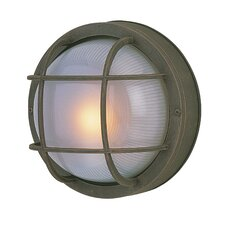 <strong>Jeremiah</strong> Bulkheads 1 Light Outdoor Wall Sconce