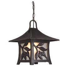 <strong>Jeremiah</strong> Mandalay 1 Light Outdoor Pendant