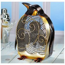 Penguin Figurine Table Top Fan