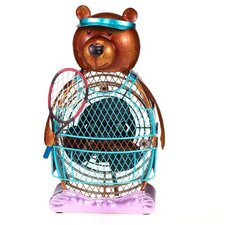<strong>Deco Breeze</strong> Tennis Figurine Table Top Fan