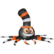 Spider with Stove - Pipe Hat Halloween Decoration