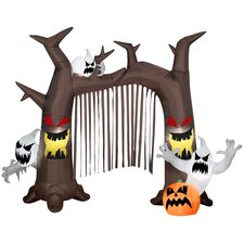 Archway - Ghostly Tree with Pumpkins Halloween Decoration