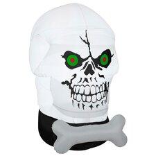 Gotham Skull Halloween Decoration