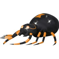 Airblown Animated Spider Halloween Decoration