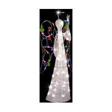 Jeweled Crystal Angel Christmas Decoration