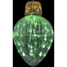 Starry Night Bulb Shape Splendor Ornament