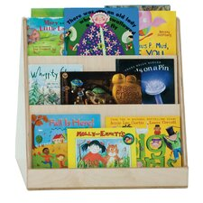 <strong>Wood Designs</strong> Healthy Kids Tot Size Two-Sided Book Display