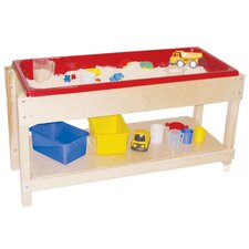 <strong>Wood Designs</strong> Sand and Water Table with Top/Shelf