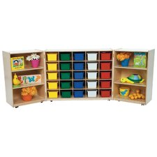 Tri Fold 26 Compartment Cubby