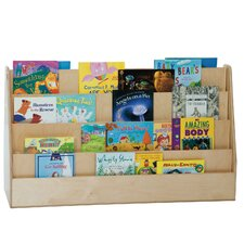 Extra Wide Double Sided Book Display