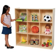 Deep Storage 9 Compartment Cubby