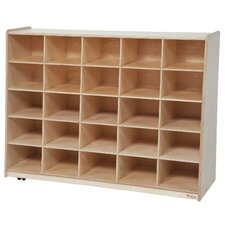 Tip-Me-Not 25 Compartment Cubby