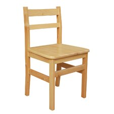 "16"" Wood Classroom Glides Chair"