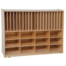 Tip-Me-Not Portfolio Storage Center 32 Compartment Cubby