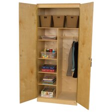 3 Adjustable Shelf Wardrobe Unit
