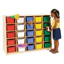 <strong>Wood Designs</strong> Tip-Me-Not Healthy Kids Storage without Trays