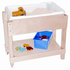 <strong>Wood Designs</strong> Petite Sand and Water Table with Top and Shelf