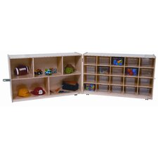 Half and Half Twenty Tray Storage Unit