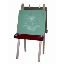 <strong>Wood Designs</strong> Double Adjustable Easel with Chalkboard